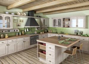 Rustikální kuchyně z fólie