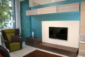 TORINO, obývací stěna